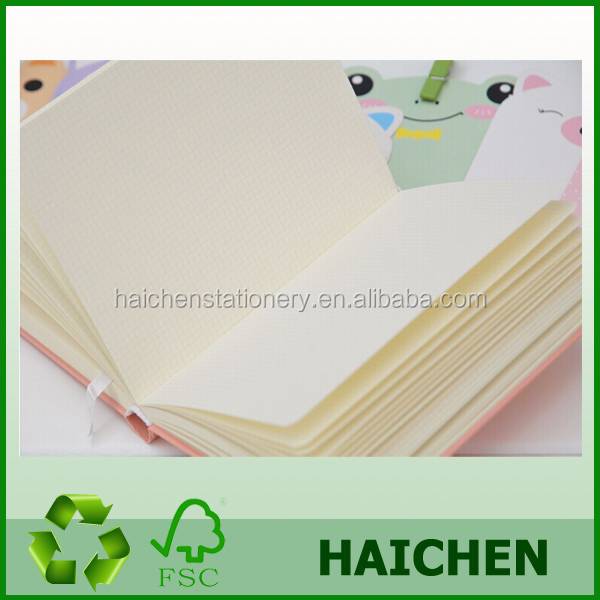wholesale cheap four colors graph paper notebook