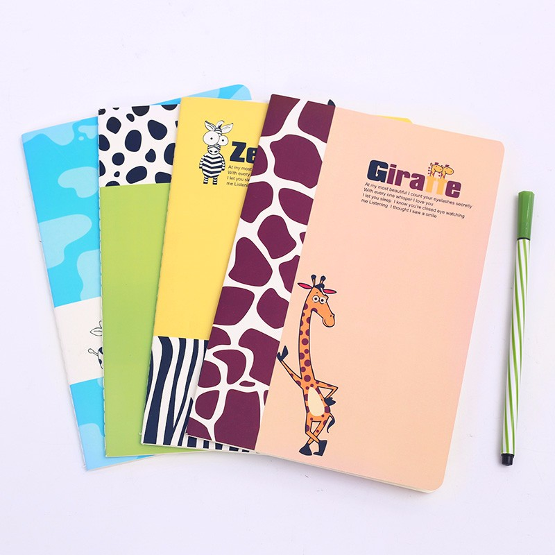 Children Note Book Cover : Stationery notebook school student notepad children pile