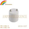 Good quality GU24-E27 converter /adaptor lamp holder /socket