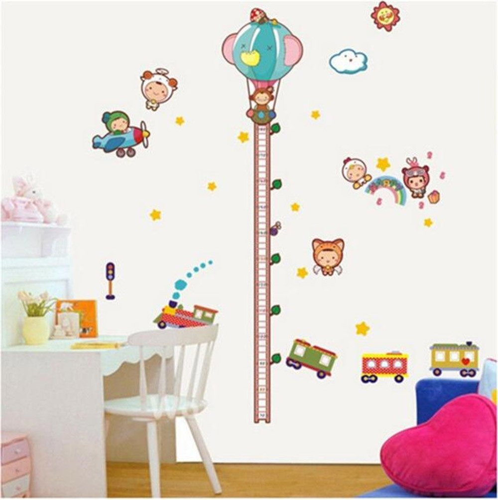 Cheap height measure chart sticker find height measure chart get quotations ideana removable wall sticker diy decal baby growth chart height measure home decor kids room decoration geenschuldenfo Gallery
