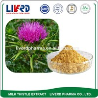 Reduce Herbal Extract Milk thistle Seed Powder for health