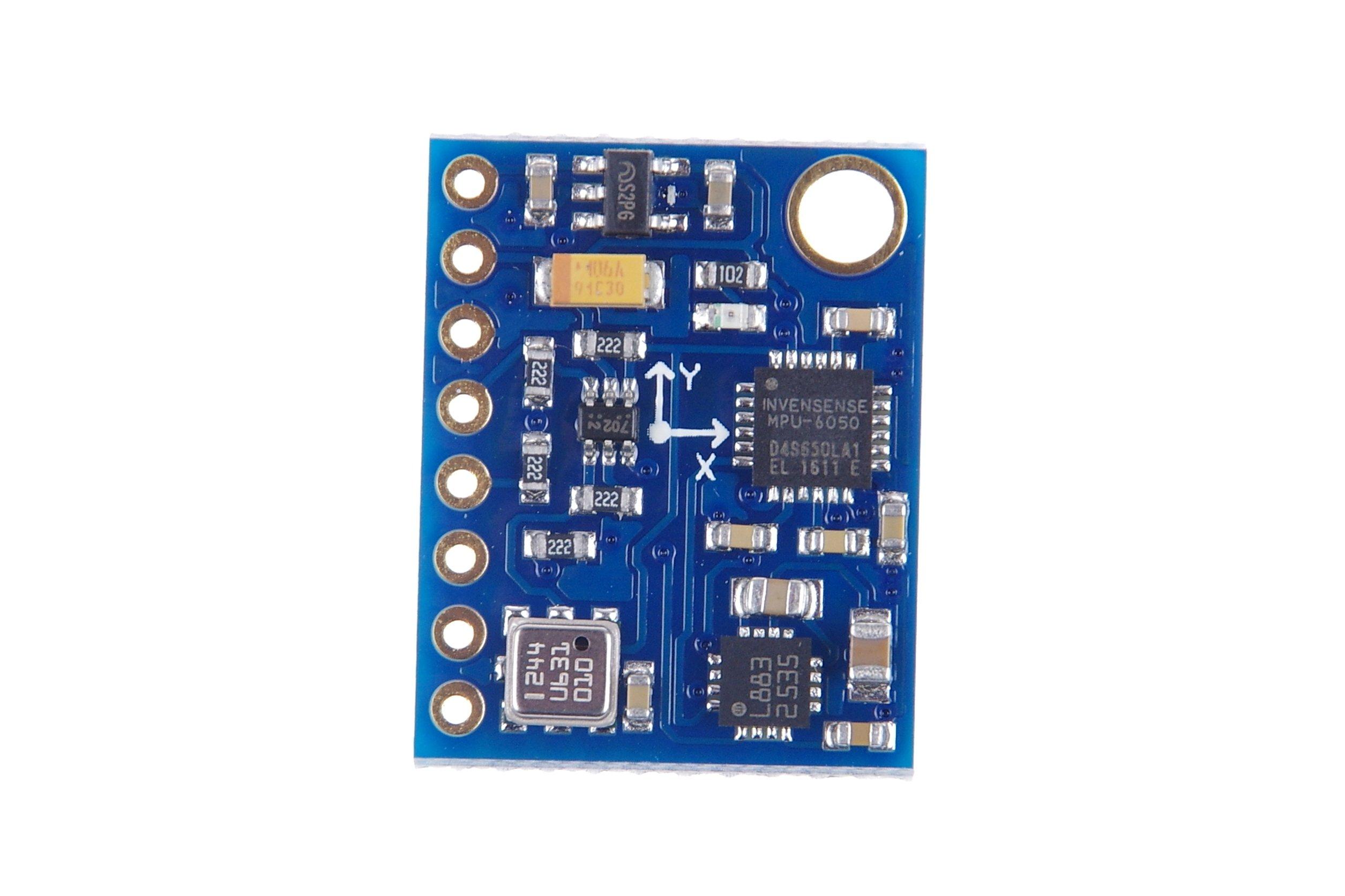 10DOF MPU6050 HMC5883L BMP180 GY-87 ACC Kompass Barom Arduino Raspberry Pi