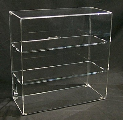 Manufacturer supplier 3 tier acrylic display case / 4 drawer acrylic makeup organizerile Charger Display Case