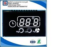 TN STN HTN FSTN VA transparent lcd display 5 segment lcd display custom size lcd