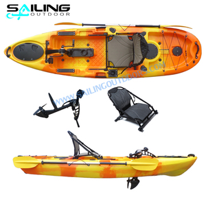 Sailing Outdoor Fishing Propel Pedal Drive Kayak With Foot Drive Pedall Propeller con pedali Boat Motor China Manufacture