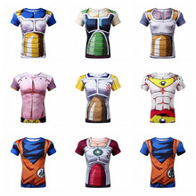 Dětské 3D tričko s potiskem Dragon Ball Z
