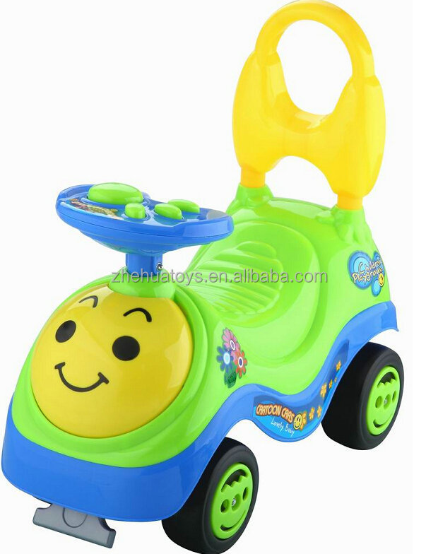 plastic foot to floor baby ride on car push toddler toys car for kids
