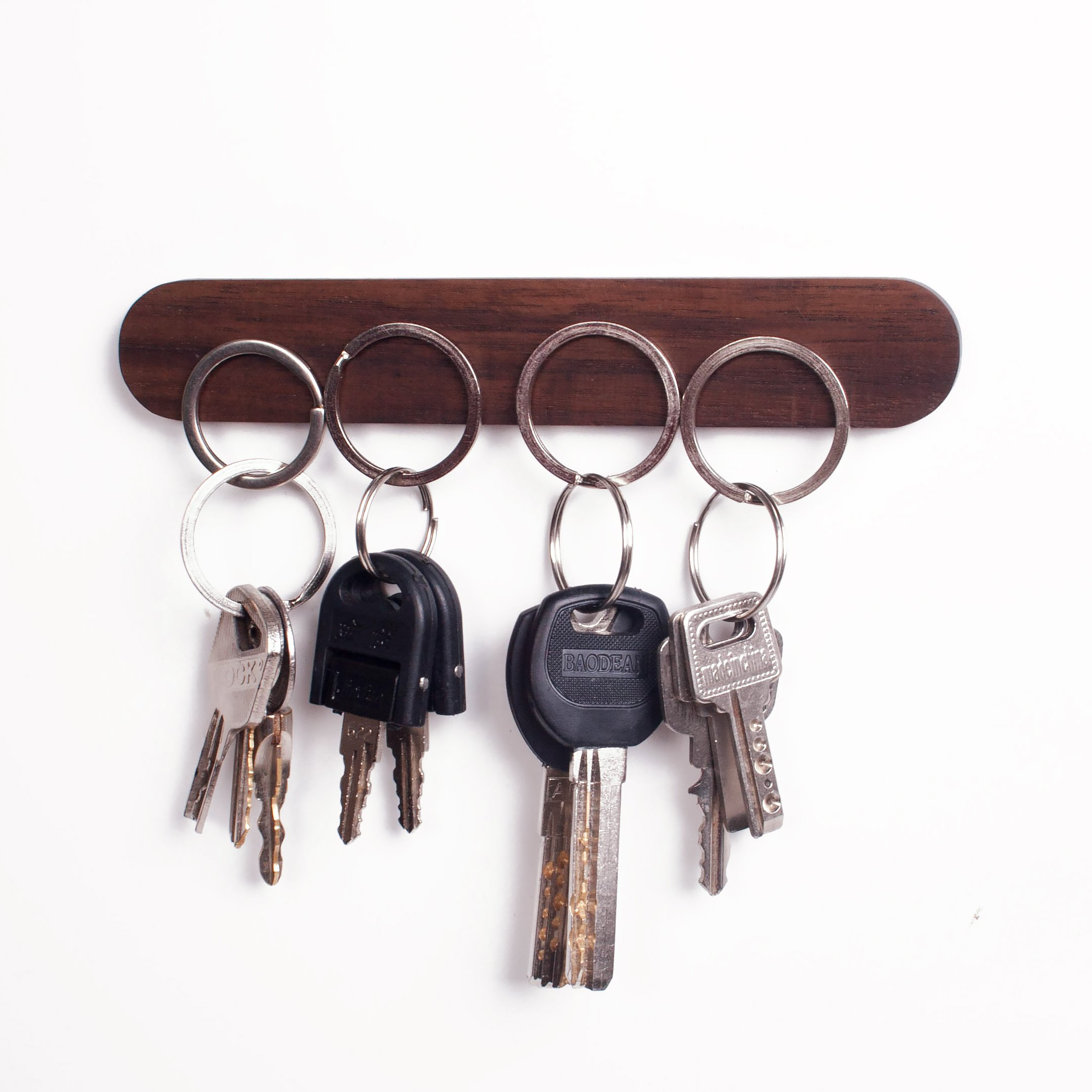 office key holder. Get Quotations · Novelty Magnetic Key Holder By WaldenTheory | Wooden| Hold On Wall| Refrigerator Magnet Office