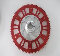Square Hole Style #219 Sprocket with good hardness racing petrol go karts