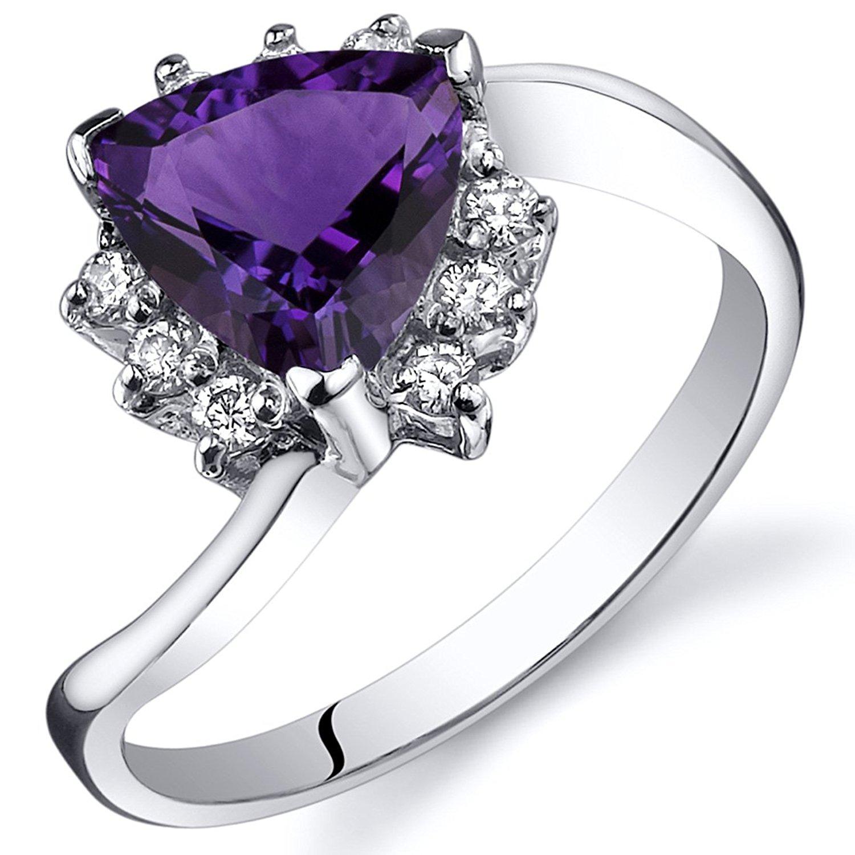 cc76abed153b4 Cheap Trillion Cut Amethyst Ring, find Trillion Cut Amethyst Ring ...