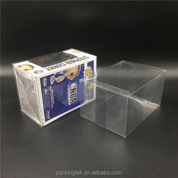 Wholesale Clear PET Material Plastic Protector Case for Funko Pop