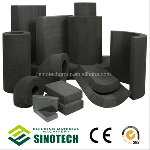 Ecologically friendly, sustainable construction insulation material - foam glass ( cellular glass )