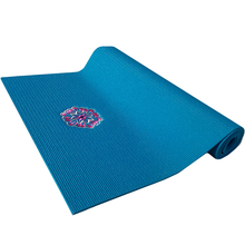 Women Exercise Custom Embroidered logo yoga mat