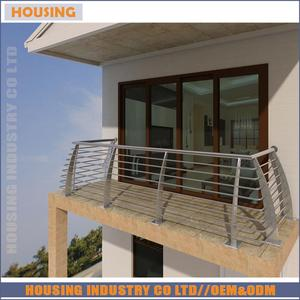 low price balcony stainless steel railing design