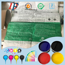 Water based printing ink for PP woven bag sack