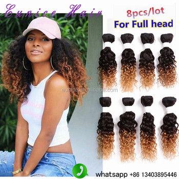 Kinky Curly Hairstyle Virgin Brazilian Wavy Hair Ombre Color 1b 27 30 Burgundy Different Types Of Curly Weave Raw Hair Buy Kinky Curly Hair Virgin