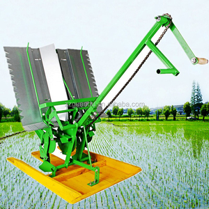 Agriculture machine for rice planter 2 rows paddy transplanter with the bottom price
