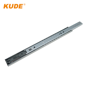 2-Fold Steel Balls Buffering Undermount Drawer Slides