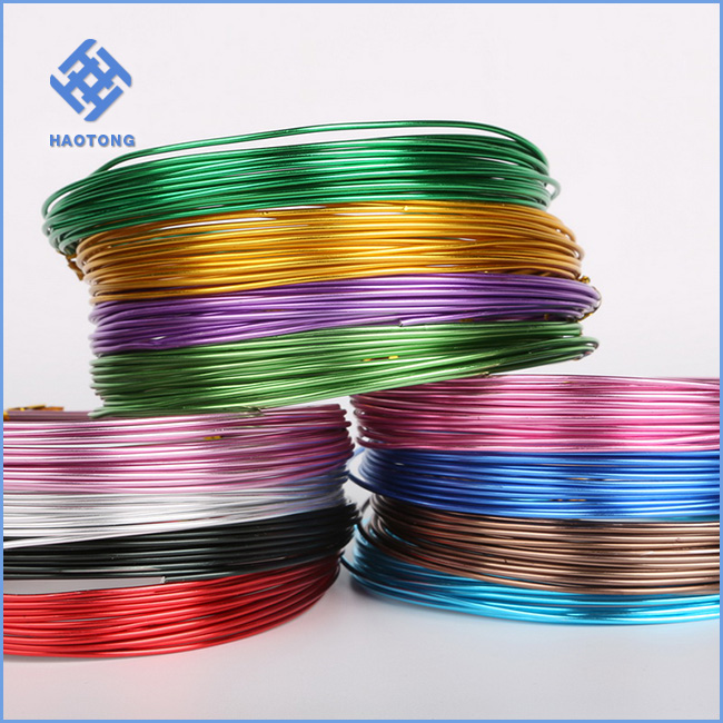 Sample packing wholesale price jewelry handmade gold colored craft copper wire/metal jewelry wire