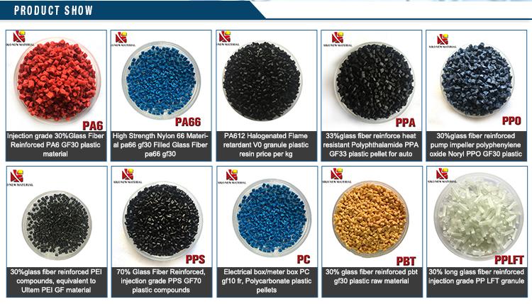PBT GF 30% PBT GF 50 впрыска Vrigin-сорт стекловолокна заполнены PBT смола/соединение