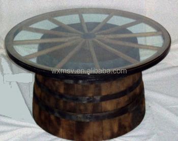 Rustic Wagon Wheel For Coffee Table Diy