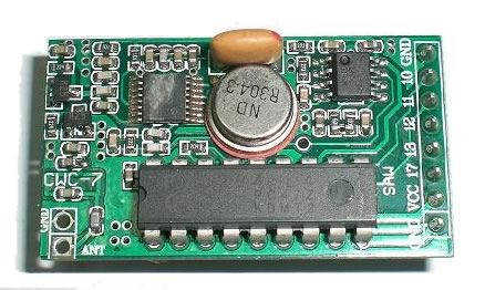 Good 433.92Mhz RF Receiver PT2272 Rx module YS-CWC7 ASK transmitter & receiver, remote receiver