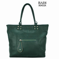 BADI new design big zipper puller unique point bags handbags handbags 2014