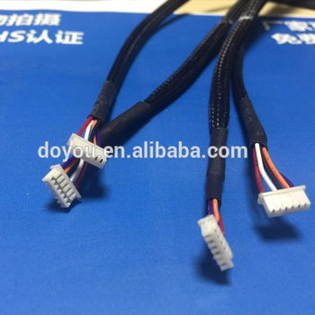 micro jst 1 25mm 6-pin connector wire harness