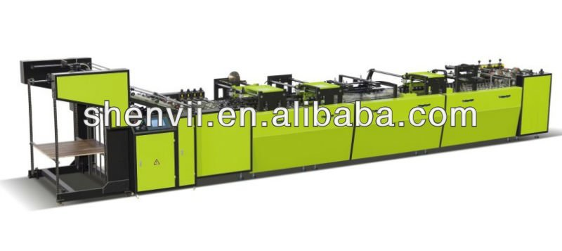 Semi automatic bagging line