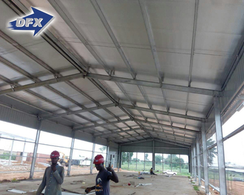 Modern Design Steel Structure Broiler Chicken Poultry Farm Shed
