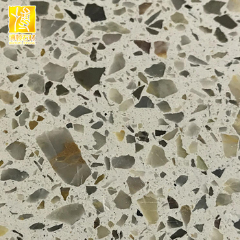 Precast Khaki Color Quartz Terrazzo Tiles From Slabs - Buy Precast  Terrazzo,Quartz Terrazzo Tiles,Cement Terrazzo Slab Product on Alibaba com
