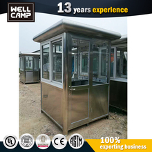 Prefabricated Portable High Quality Security Guard Room Sentry Box For Sale
