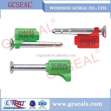 Hhot Selling 2015 Self Locking Container Finger press Bolt Seal GC-B003