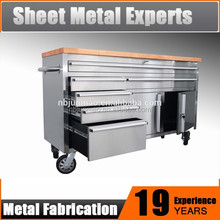 Industrial heavy duty wholesales tool box 60 in. Roller cabinet stainless steel
