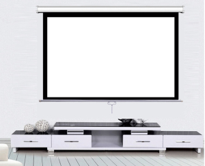 "Cheapest Factory Price of 150"" motorized projector screen"