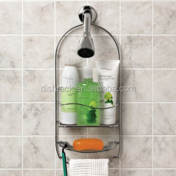 Modern Hanging Bathroom Shampoo Towel Rack Stainless Steel 304 Triple Tier Shower Caddy