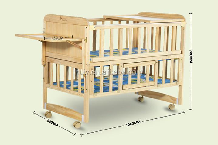 Custom Made Unfinished Wooden Baby Crib Buy Baby Crib