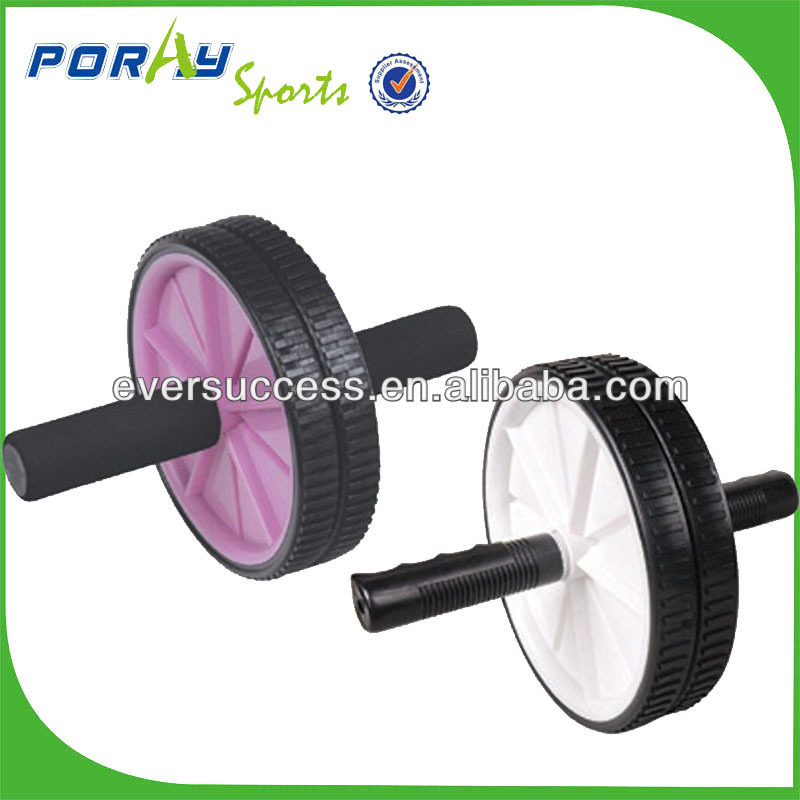AB ROLLER EXERCIES WHEEL/DOUBLE AB WHEEL/SMALL FITNESS EQUIPMENT