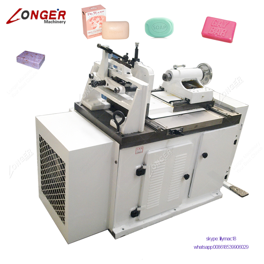 China Supplier Bath Soap Stamper Machine Hotel Soap Printing Machine Price
