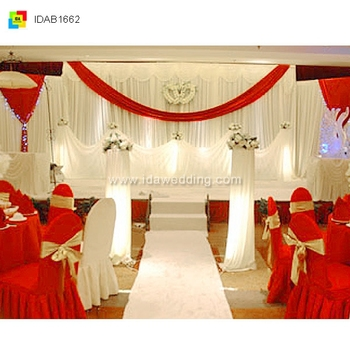 China Festive Events/wedding Backdrop Curtain Supplier Jubilant ...