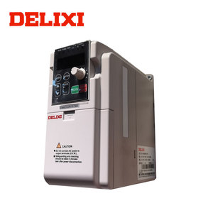 Inverters & Converters DELIXI EM60 0.4-2.2KW Ac Motor Powerful Moment Rotary Frequency Converter