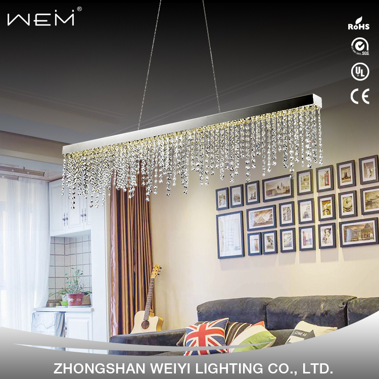 Europe style modern hotel Handmade super k9 large crystal led chandelier light for hotel