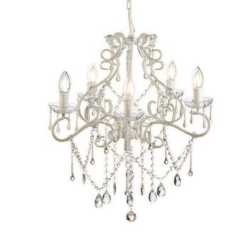 Chandelier style easy fit ceiling lightlamp shade drop pendant chandelier style easy fit ceiling lightlamp shade drop pendant light modern for home aloadofball Gallery