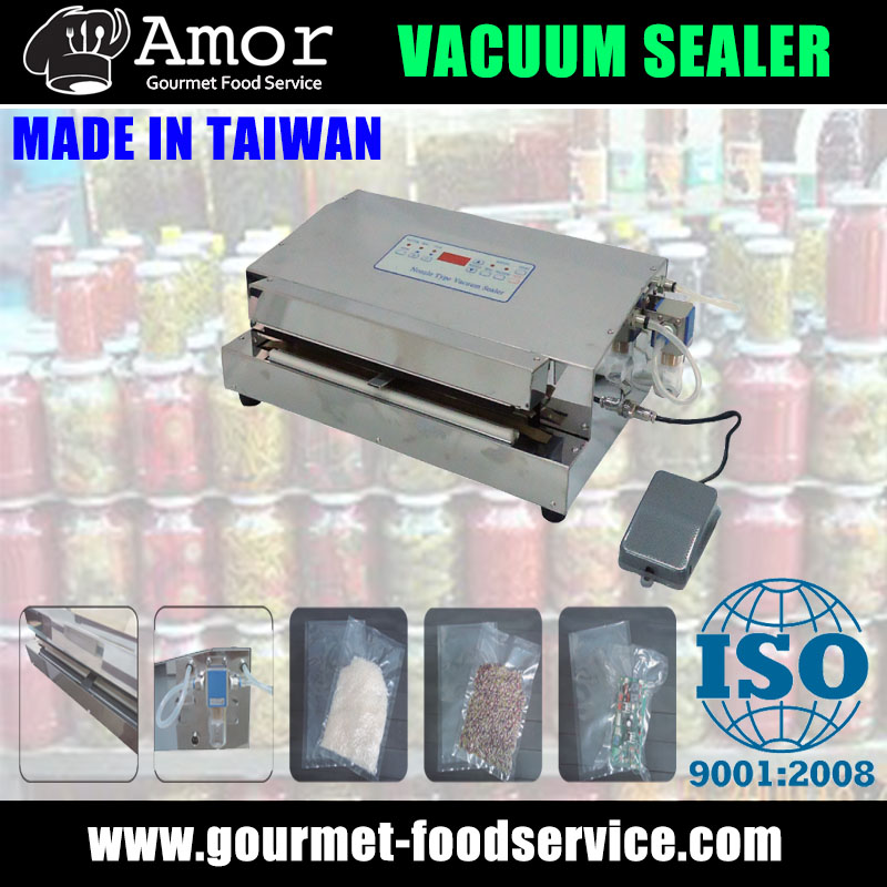 Sincere product nozzle type vacuum sealing machine with pump