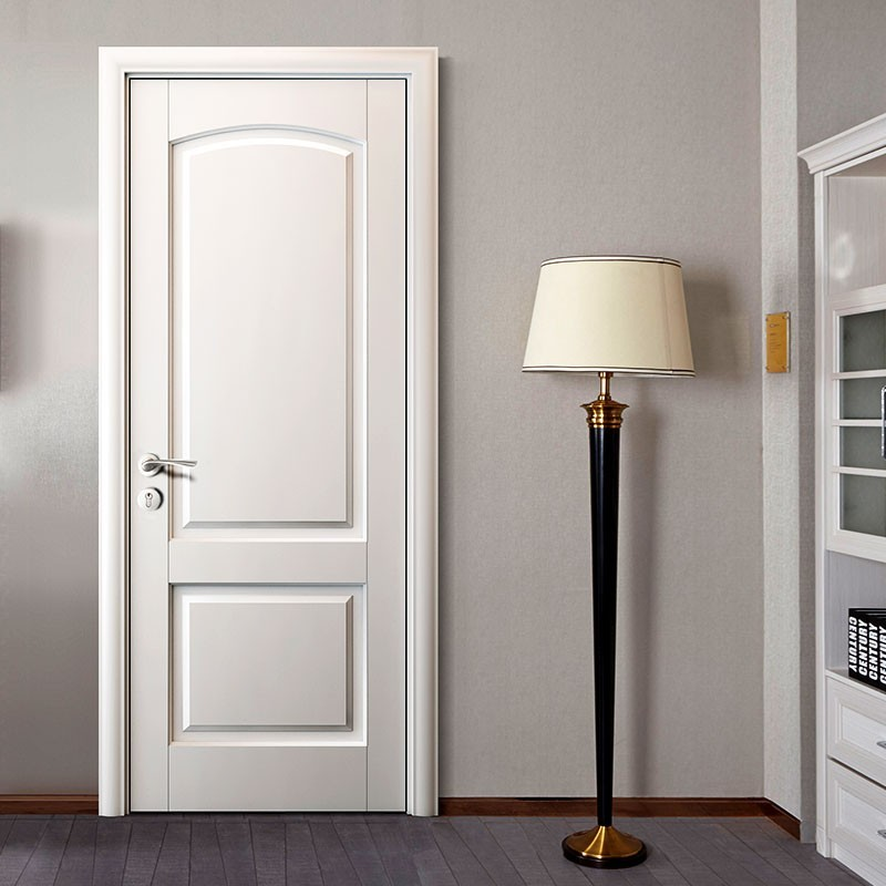 White Primed Or Finished Interior Two Panel Mdf Door
