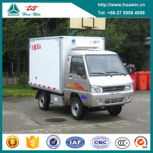 China Factory Cheap Price 4x2 Mini Electric Refrigerated Box Van Truck for Sale