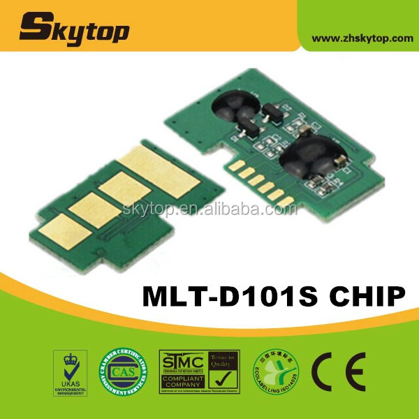 compatible toner cartridge autoreset chip for samsung d101s ml2160 printer reset chip