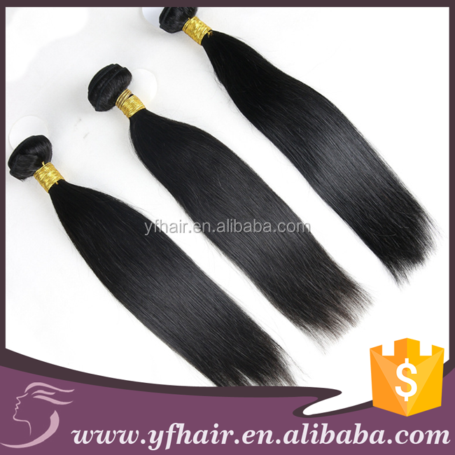 Single Donor Best Quality Natural Color Virgin Indian brazilian Remy Hair straight mink hair