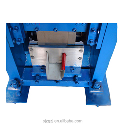 roof making machine gutter cold roll forming machine