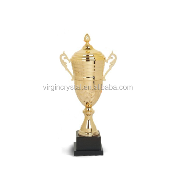 Gold Metal Loving Cup/ Metal Trophy Plate